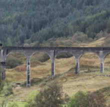 The Jacobite Steam Train at Glenfinnan