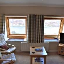 Linnhe suite double aspect windows