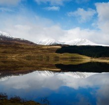 Loch Tulla, just before Bridge of Orchy